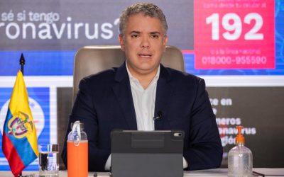 Presidente Duque, hizo reconocimiento público al Gobernador Ricardo Orozco por el manejo a la salud en tiempos de crisis