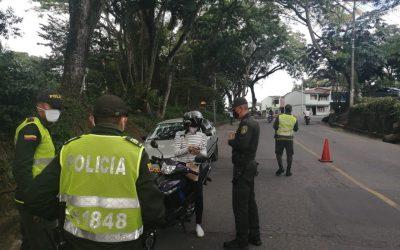 Policía Nacional a realizado 5.401 comparendos por violación a la cuarentena