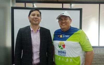 La gerencia del IMDRI ya tiene nombre, se trata de Alejandro Ortíz
