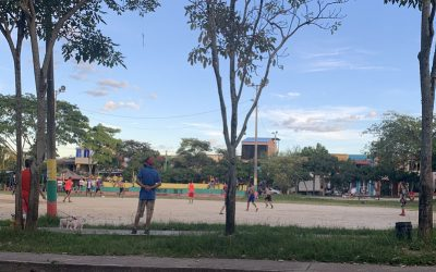 En la Ciudadela Comfenalco, comuna 9 de Ibagué, no le tienen miedo al Covid-19