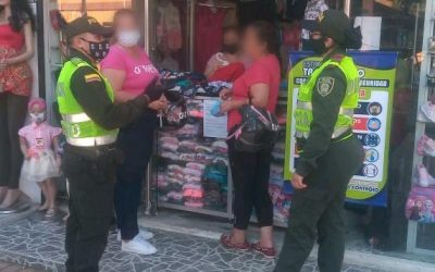 Con campañas, la policía busca disminuir la violencia de género
