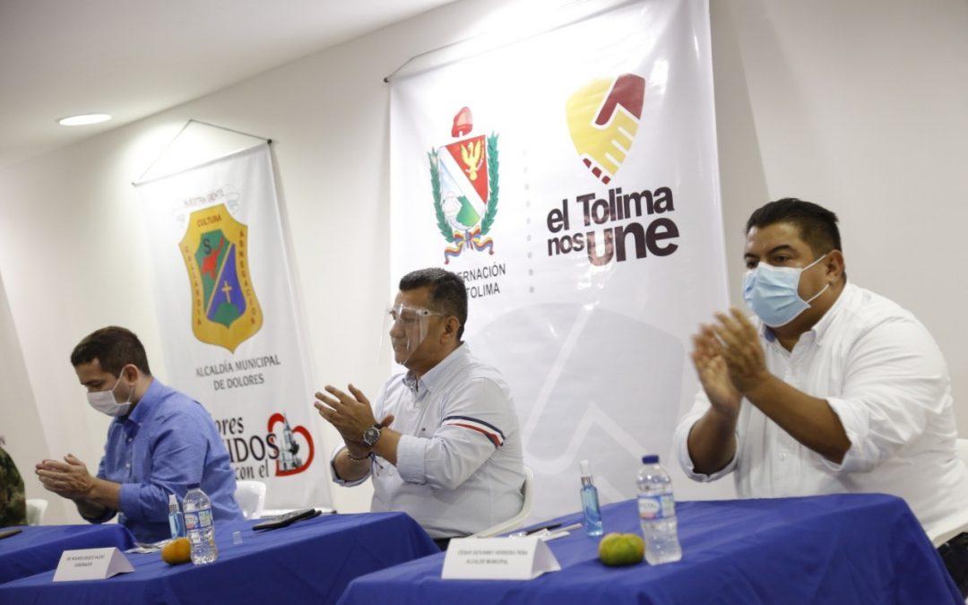 Reactivación económica, turismo, recuperación vial, inversión en salud, algunos de los compromisos del gobernador para el suroriente del Tolima