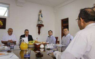 La iglesia católica busca trabajar de la mano con los gobiernos Departamental y Municipal para lograr la reapertura
