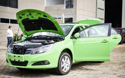 Conozca el primer taxi eléctrico en Ibagué