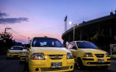 Nuevo pico y placa para taxis en Ibagué, el 70% de los vehículos está operando