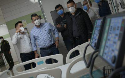 Sede Limonar del hospital Federico Lleras Acosta, amplía su capacidad en camas de Unidad de Cuidados Intensivos