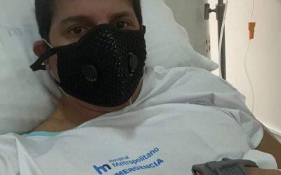 Con grupos de WhatsApp y cadenas de oración, amigos de Armando Gaitán claman por su salud.