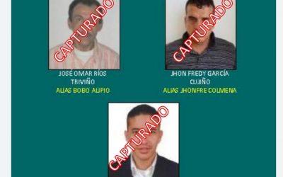 """Capturado el tercero y último de los más buscados en Ibagué, alias """"Chencho"""""""