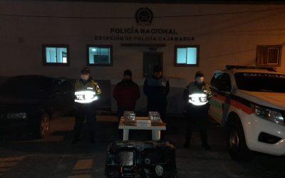 5.784 gramos de base de coca fueron incautados por la policía en la vía Ibagué-Armenia