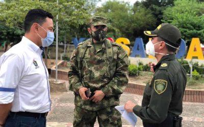 Tras hurto al banco Agrario en Saldaña autoridades toman medidas para prevenir actos delictivos en todo el Tolima