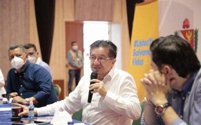 Ministro de Salud Fernando Ruiz, en su visita al Tolima, hizo grandes anuncios para fortalecer los hospitales