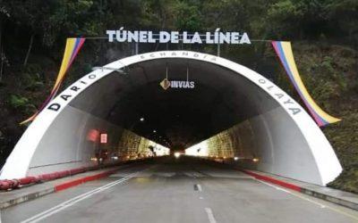 Primeras imágenes y saludo de la llegada del presidente Duque a la inauguración del túnel de la linea