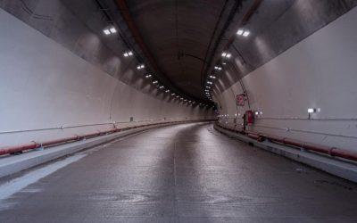 Luz al final del túnel de la línea, la obra vial más esperada en Colombia fue inaugurado.