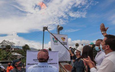 560 familias campesinas de Casabianca pasaron de cocinar con leña a cocinar con gas