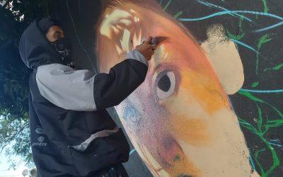 Artistas urbanos embellecieron con arte las calles de Ibagué