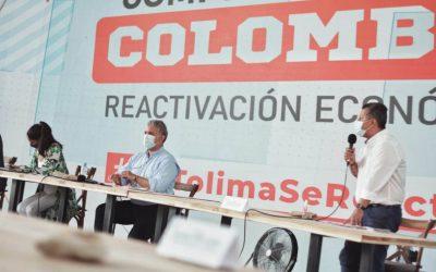 ¿Qué le pidió el Gobernador Ricardo Orozco al presidente Duque en Ibagué?