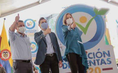 Gobernación del Tolima, Alcaldía de Ibagué y Cortolima, rindieron cuentas a la comunidad
