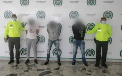 """Policía capturó a """"Los Lisos"""" y a """"Los Rápidos"""" temidas bandas delincuenciales"""