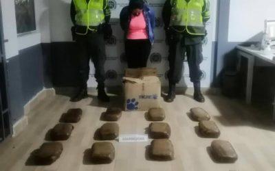 La Policía incauto 15 mil dosis de marihuana en la vía Ibagué- Calarcá