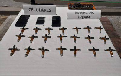 Cayeron los 'Los Vaper' e incautaron más de 1.000 gramos de marihuana líquida