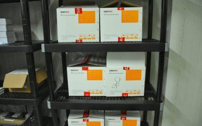 Llegaron al Tolima 17.780 dosis de Sinovac