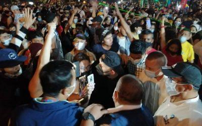 Gestores de paz y convivencia en las marchas fueron amenazados