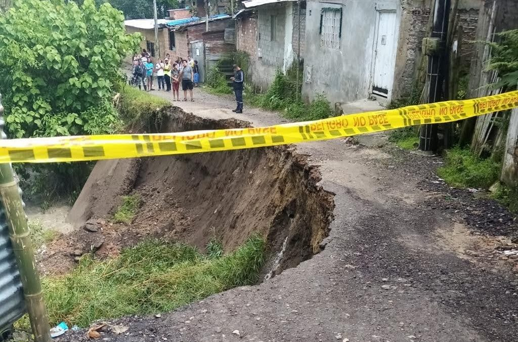 Barrio Baltazar y veredas de Ibagué en emergencia