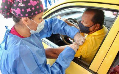 Atención taxistas! Hoy viernes se pueden aplicar la segunda dosis contra el Covid-19
