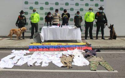 Capturados cuatro presuntos responsables de actos vandálicos en Ibagué