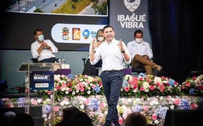 Alcalde Andrés Hurtado rindió cuentas a los ibaguereños